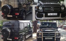 """Điểm danh những chiếc Mercedes-Benz G63 AMG biển """"khủng"""" tại Việt Nam"""