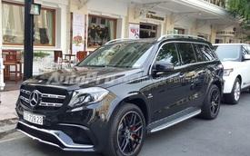"""""""Tóm gọn"""" Mercedes-Benz GLS63 AMG 8,4 tỷ Đồng trên phố Sài thành"""