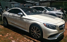 Xe tiền tỷ Mercedes-AMG S63 Coupe cập bến Việt Nam
