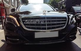 """Tóm gọn"" Mercedes-Maybach S600 gắn logo Maybach tại Sài Gòn"