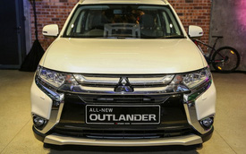 Mitsubishi úp mở việc ra mắt Outlander 2016 tại Việt Nam