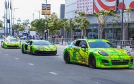 Đã mắt dàn siêu xe tại GoldRush Rally 2016