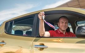 Thưởng xe Nissan mạ vàng cho vận động viên giành vàng Olympic