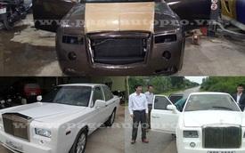 """Đây là những chiếc Rolls-Royce Phantom """"made in Việt Nam"""" nổi tiếng nhất"""
