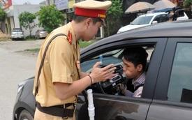 Từ 16/8, Cảnh sát giao thông lập chốt gần nhà hàng, quán rượu phạt nồng độ cồn