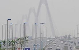 Cây cầu đẹp nhất Việt Nam bị sương mù bao phủ giữa trưa