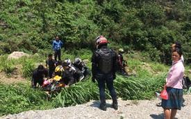 """Mộc Châu: Chạy nhanh khi ôm cua, biker """"nài"""" Honda CBR1000RR rơi xuống vực"""