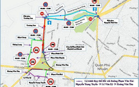 Cấm ôtô theo giờ quanh sân bay Tân Sơn Nhất
