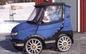 PodRide - Xe đạp kiểu dáng ô tô siêu độc đáo