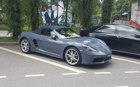 Bắt gặp Porsche 718 Boxster 2016 trị giá 3,5 tỷ Đồng trên phố Hà thành