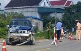 'Ma men' dẫn đường, chủ tịch xã cầm lái đâm chết 2 học sinh