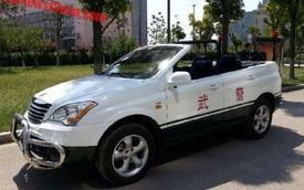 Xe tuần tra mui trần chuyên dụng của lực lượng cảnh sát Trung Quốc