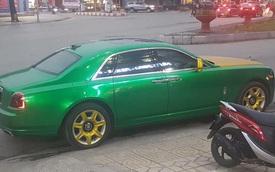 Choáng với Rolls-Royce Ghost màu như taxi của đại gia Ninh Bình
