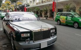 Rolls-Royce Phantom màu độc của đại gia Trung Nguyên xuất hiện trên phố