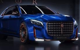 Scaldarsi Emperor I - Xe nạm vàng 24K dựa trên Mercedes-Maybach S600