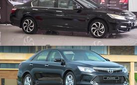 So nhanh Honda Accord 2016 và Toyota Camry