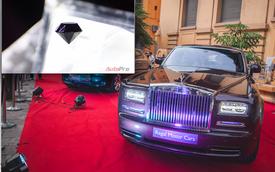 Xe Rolls-Royce và viên kim cương đen lớn nhất thế giới hội tụ tại Hà Nội
