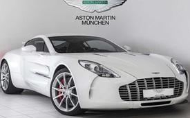 Aston Martin One-77 đã qua sử dụng rao bán 73 tỷ Đồng