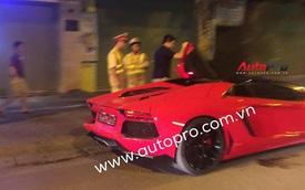 Lamborghini Aventador Roadster độc nhất Việt Nam lại bị cảnh sát tuýt còi