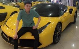 Em trai Phan Thành nhận quà tốt nghiệp là siêu xe Ferrari 488 GTB