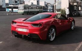 """Ferrari 488 GTB của bà chủ cà phê quận 7 ra biển """"khủng"""""""