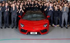 1 ngày, Lamborghini bán trung bình 3 chiếc Aventador