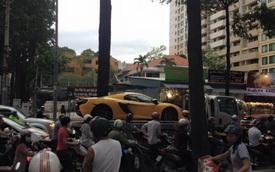 Bắt gặp siêu xe McLaren 650S Spider của Phan Thành trên phố Sài Gòn