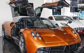 Siêu xe Pagani Huayra 78 tỷ Đồng cập bến Việt Nam sẽ có màu cam?