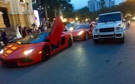 Dàn siêu xe của các đại gia Sài Gòn và Hà Nội tụ tập cuối tuần