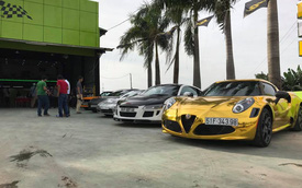 Audi R8 độ 1 tỷ Đồng cùng dàn xe thể thao hàng độc tụ tập tại Sài thành