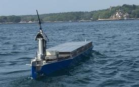 Tàu tự lái chạy năng lượng mặt trời xuyên Đại Tây Dương