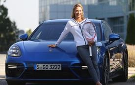 """Porsche Panamera Turbo """"kết duyên"""" cùng """"tân nữ hoàng quần vợt"""" Angelique Kerber"""