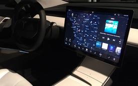 """LG sản xuất màn hình cảm ứng """"vô địch kích thước"""" cho Tesla Model 3"""