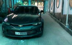 Thiếu gia 9X Bình Dương tậu Chevrolet Camaro 2017 đầu tiên tại Việt Nam
