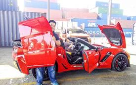 """Thiếu gia Sài Gòn sở hữu bộ sưu tập mô tô """"khủng"""" tậu Chevrolet Corvette"""