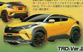 Chưa được bày bán, Toyota C-HR đã có phiên bản thể thao hơn