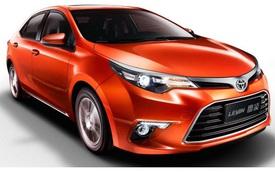 Toyota Levin 2016 hay Corolla Trung Quốc có động cơ mới, giá từ 362 triệu Đồng