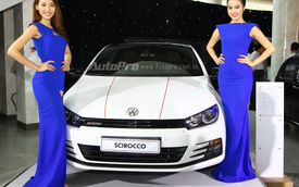 Scirocco trở lại Việt Nam với bản GTS 2015, giá từ 1,550 tỷ Đồng