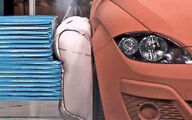Túi khí ngoài thân xe có làm giảm chấn thương?