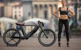Cực chất với xe đạp điện phong cách Cafe Racer
