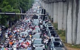 Đề xuất cấm xe máy ngoại tỉnh vào Hà Nội từ năm 2021