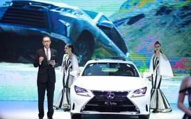 Lexus: Đẳng cấp xe sang độc tôn tại VMS 2016