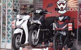 Honda SH 2017 ra đại lý tại Hà Nội, phiên bản 150i ABS có giá 105 triệu Đồng