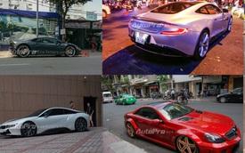 Hàng loạt siêu xe dạo phố cuối tuần tại Sài Gòn