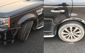 Range Rover gặp nạn trên cao tốc 6 làn hiện đại nhất Việt Nam