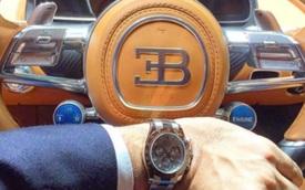 Đồng hồ tiền tỉ sánh đôi cùng siêu xe