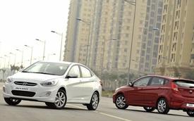 Ưu đãi về thuế Hyundai giảm 30 triệu Đồng cho 2 mẫu xe dung tích dưới 1,5 lít
