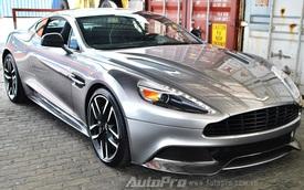 Thêm một chiếc Aston Martin Vanquish được đưa về Việt Nam