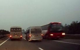 Xe ô tô đi ngược chiều trên cao tốc bị cấm vĩnh viễn vận tải hành khách