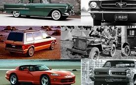 10 mẫu xe định nghĩa nền công nghiệp ô tô Mỹ
